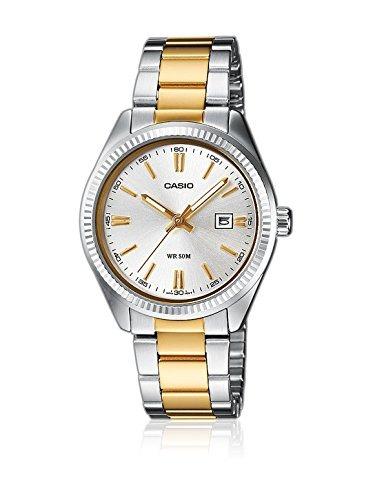 Casio Ltp-1302psg-7a-it - Reloj De Pulsera Para Mujer -   122.990 en ... 8dd50b7f8aec