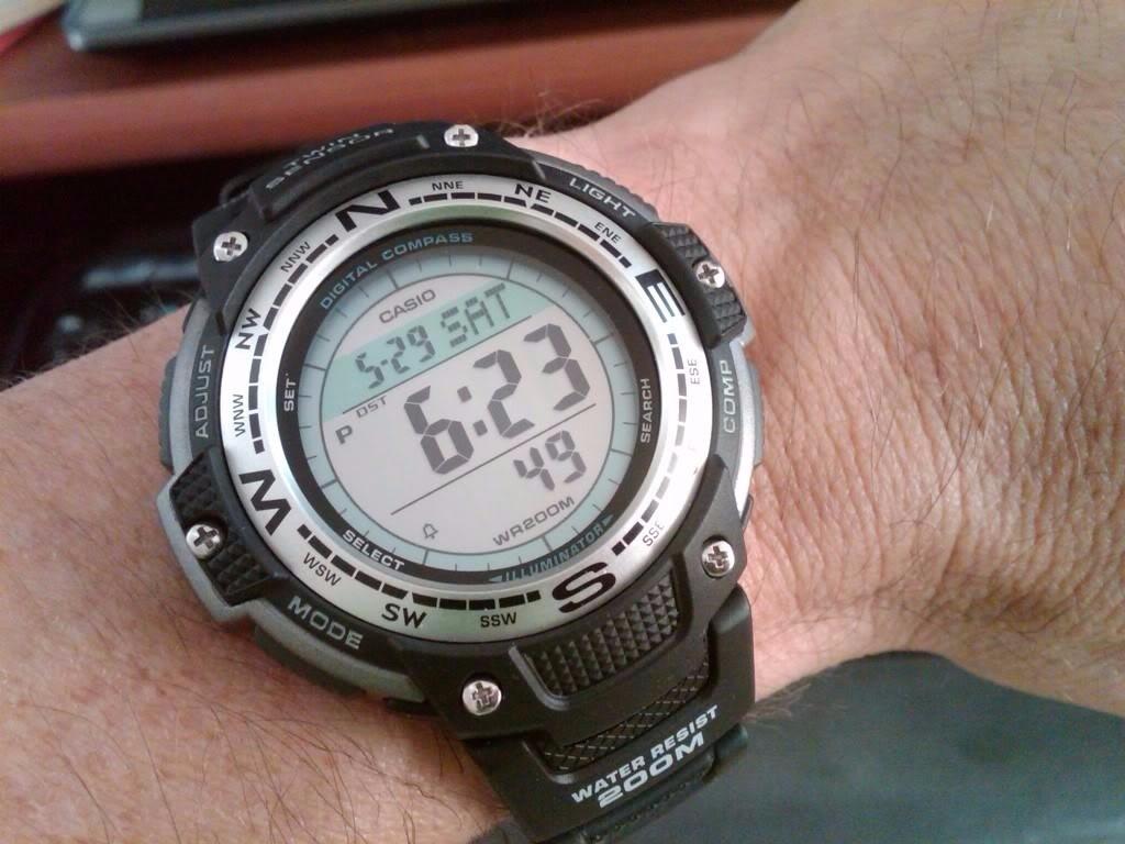 04aa4b507ad Carregando zoom... relógio casio masculino digital outgear sgw-100-1vdf.  Carregando zoom.