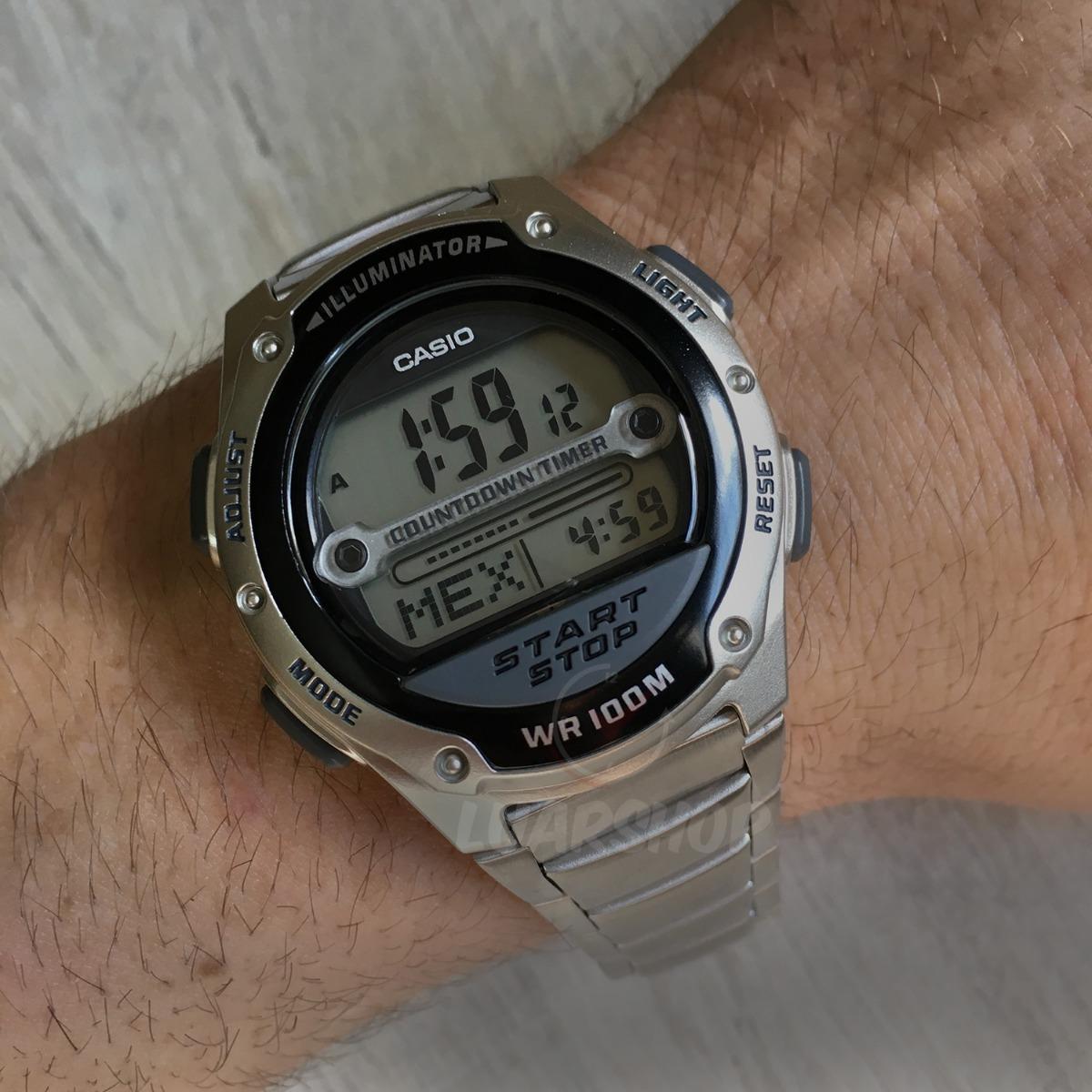 2d204f031ce Relógio Casio Digital Masculino W756d Temporizador Original - R  189 ...