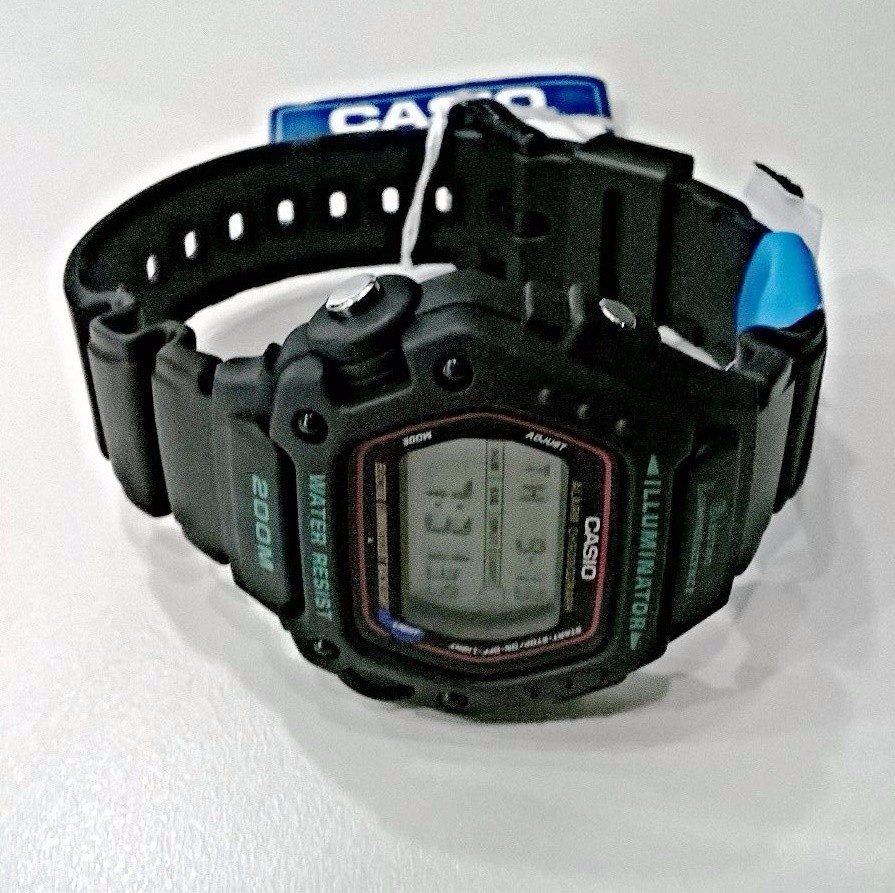 14fb4fb0b4c Carregando zoom... relógio casio masculino preto dw-290-1vs original novo