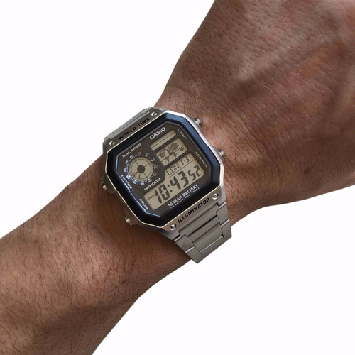 casio masculino relógio