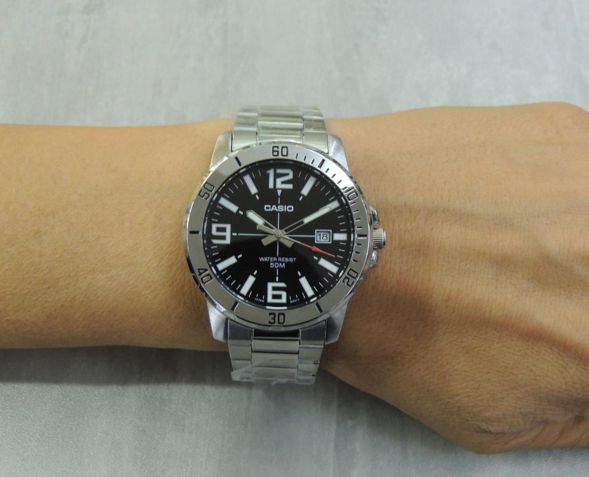 b93be753297 Lançamento Relógio Casio Masculino - Mtp-vd01d-1bvudf - Nf - R  194 ...
