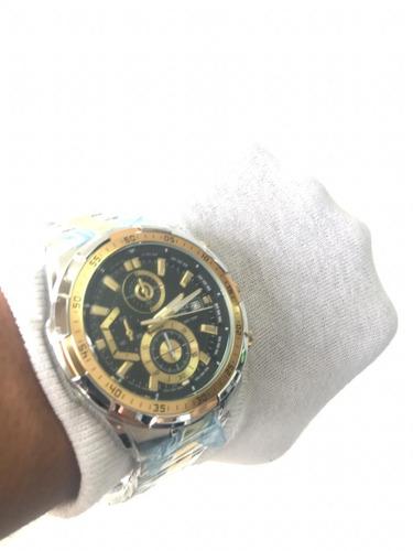 b3b7a159074 Relógio Casio Masculino Edifice Ef-558d-1avudf. Luxo Top - R  335