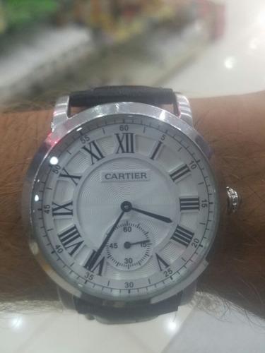 casio men's beside bem507bl-1av black leather quartz watch