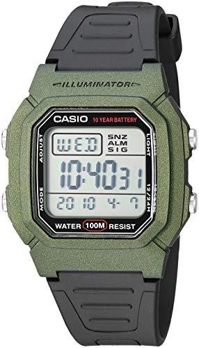 14c4c4197 Casio Mens Classic Quartz Stainless Steel And Resin Watch, C ...