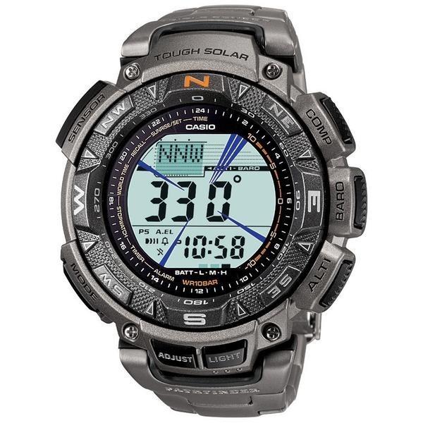 7ae6622e024 Casio Men s Pag240t-7cr Triple-sensor