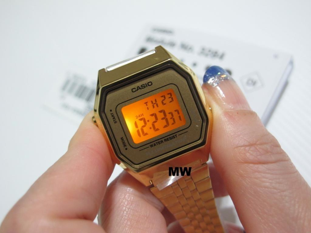 486eaf4bd43 Carregando zoom... relogio casio la680 dourado dourado mini retrô la 680 670.  Carregando zoom.