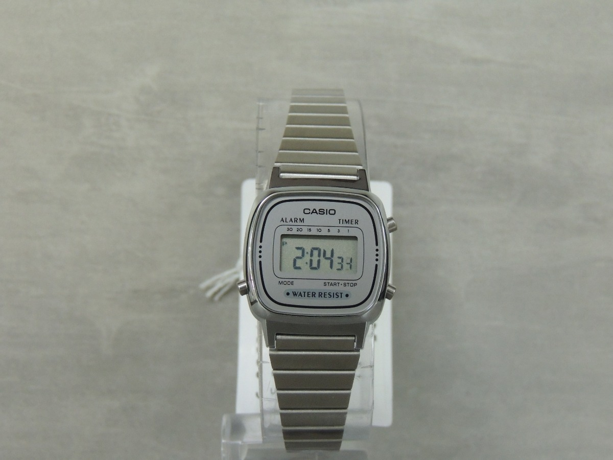 0ff3d702a31 Relógio Casio Vintage Mini La670wa-7df Parcelado + Nf - R  218