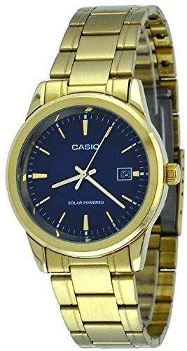 b863b8171869 Casio Mtp-vs01g-2a Reloj Solar De Fecha De Marcación En ...