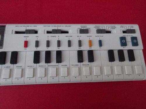casio musical teclado
