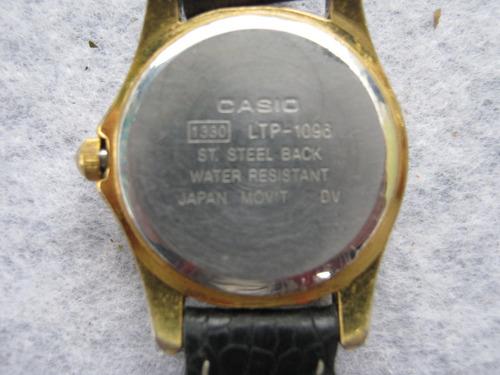 casio pulsera reloj