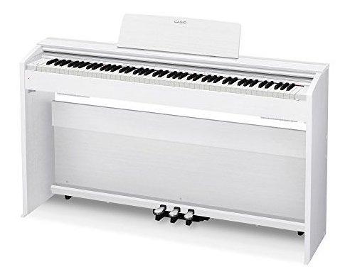 casio px870 wh privia digital home piano blanco