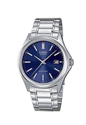 e5a9485cebcb Casio- Reloj Casio Analógico Reloj Para Hombre Plata Talla U ...