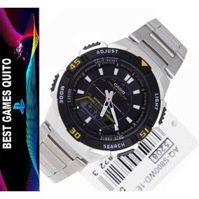 Hombre Casio Solar Para Tough Aq S800wd Reloj POkiuTXZ