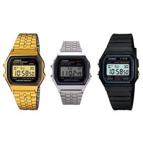 dcc28c11ee15 Relogio Casio Vintage Dourado A159w Unissex - Relógios no Mercado ...
