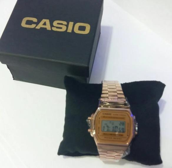 c4f6762f5f7 Casio Rose Mulher Unisex +caixa Originals - R  135
