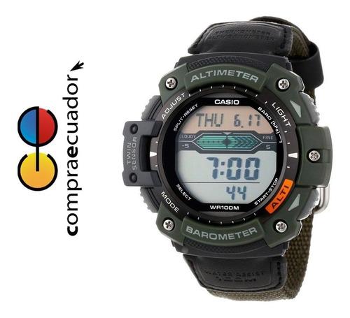 casio sgw-300hb-3av reloj digital 3 altimetro correa militar