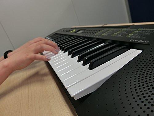 casio teclado eléctrico 49black ctk-240 (importación de jap
