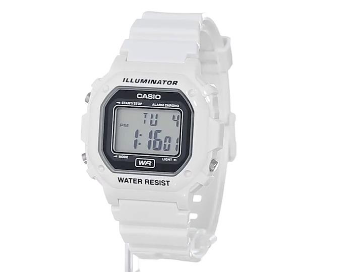 230f827ed054 Casio Unisex F-108whc-7acf Reloj Correa De Resina Blanca Cl ...