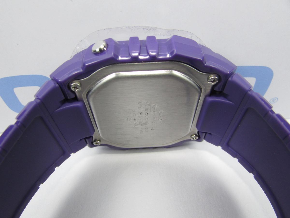 ec52dbd8dfc9 Cargando zoom... reloj casio unisex w-215h colores envio gratis ...
