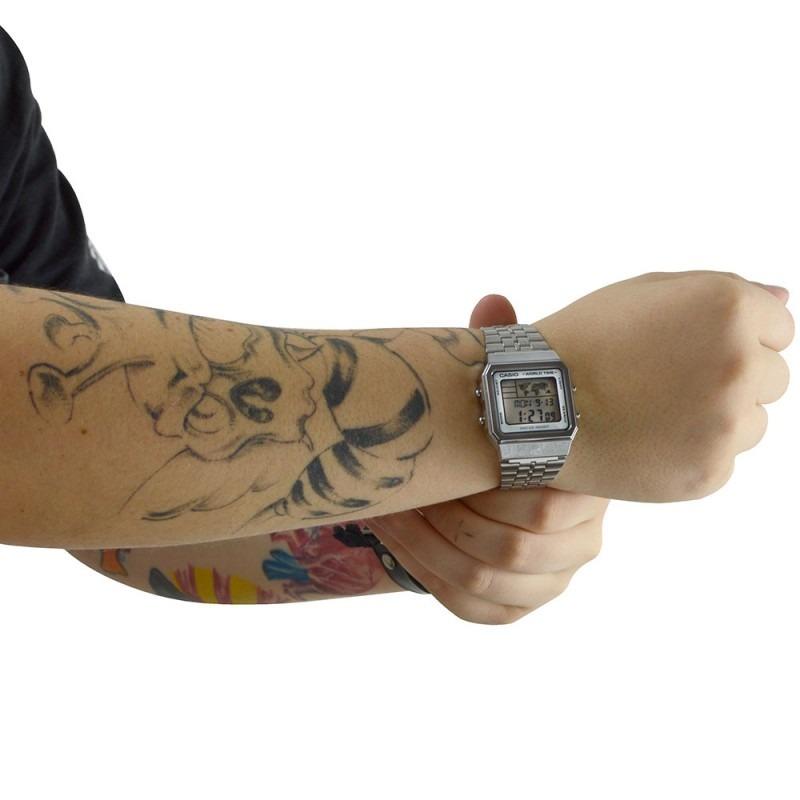 a83c4a1d70a Relógio Casio Vintage World Time A500wa-7df - Unissex - Novo - R ...