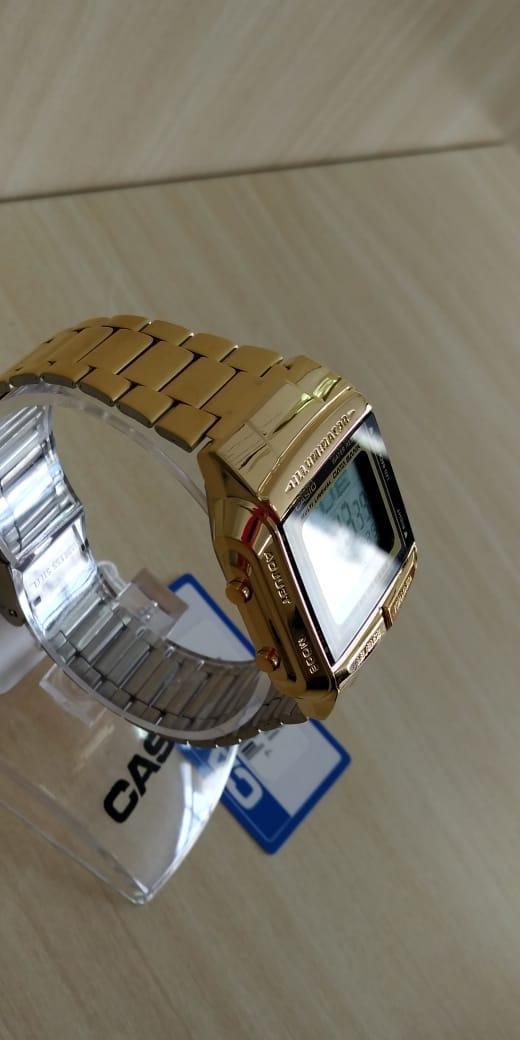 32266125178 casio vintage dourado db360g9adfu original. Carregando zoom.