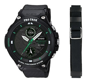 Casio Reloj Protrek Wsd Edición F20x Bkaau Li Inteligente Nn0O8yvwm