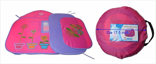 casita auto armable 2 bolso niños chicos juegos carpa oferta