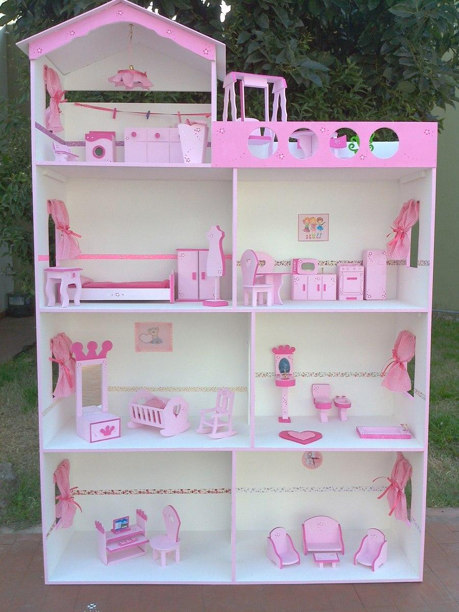 Casita Barbie Ascensor 1 50 Sin Pintar S Muebles Promo Hoy  # Muebles Sin Pintar