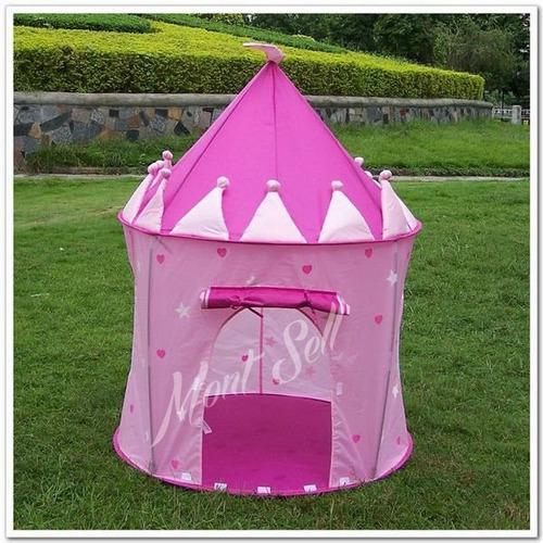 casita carpa pelotero castillo princesa infantil plegable