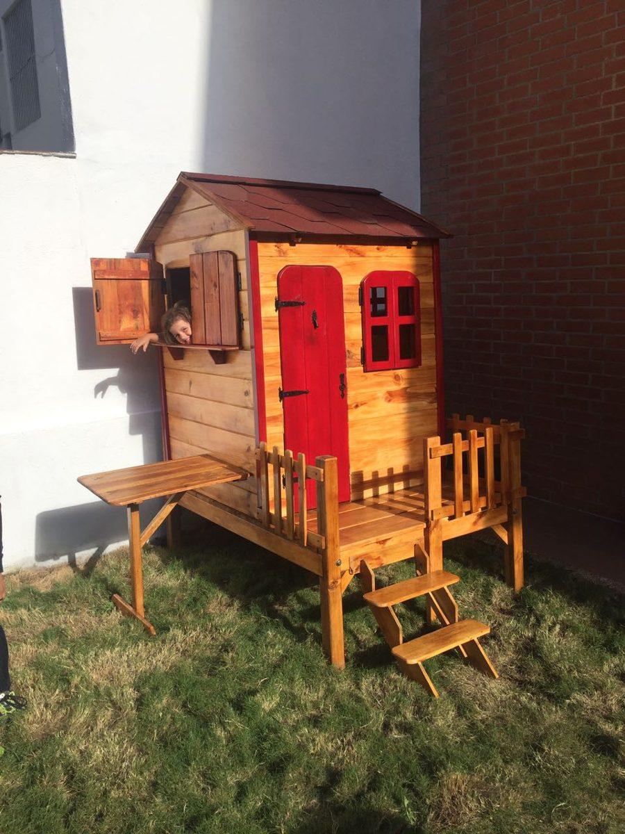 casita casa de juegos para nios madera