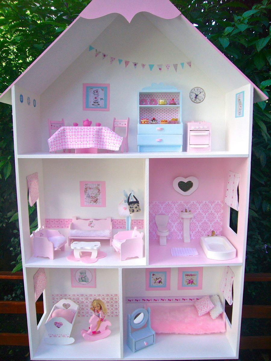 Casita /casa De Muñecas Barbie Con Accesorios!! - $ 3.600,00 en ...