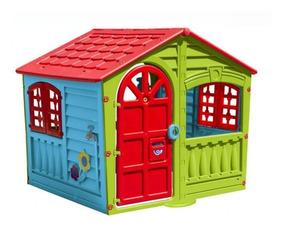 Casita Casa Para Niños Infantil Aire Libre Is 780 Jardín