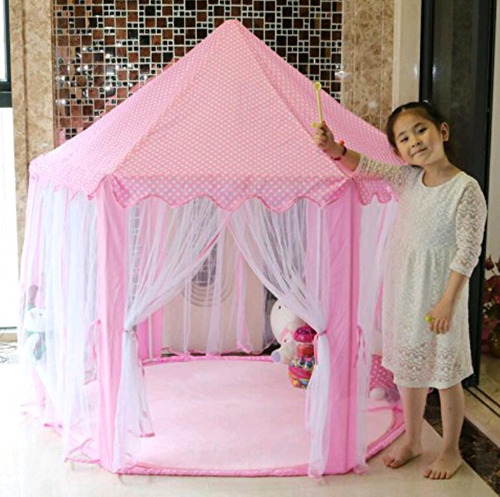 casita castillo princesa carpa infantil para niñas y niños