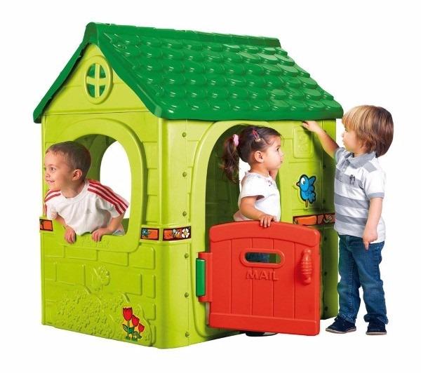 Casita de juego para ni os fantasy house feber casa for Casas exterior para ninos