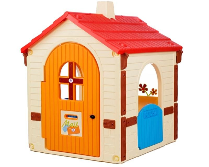 Casita de juegos infantil para ni as country house - Casita con tobogan para ninos ...