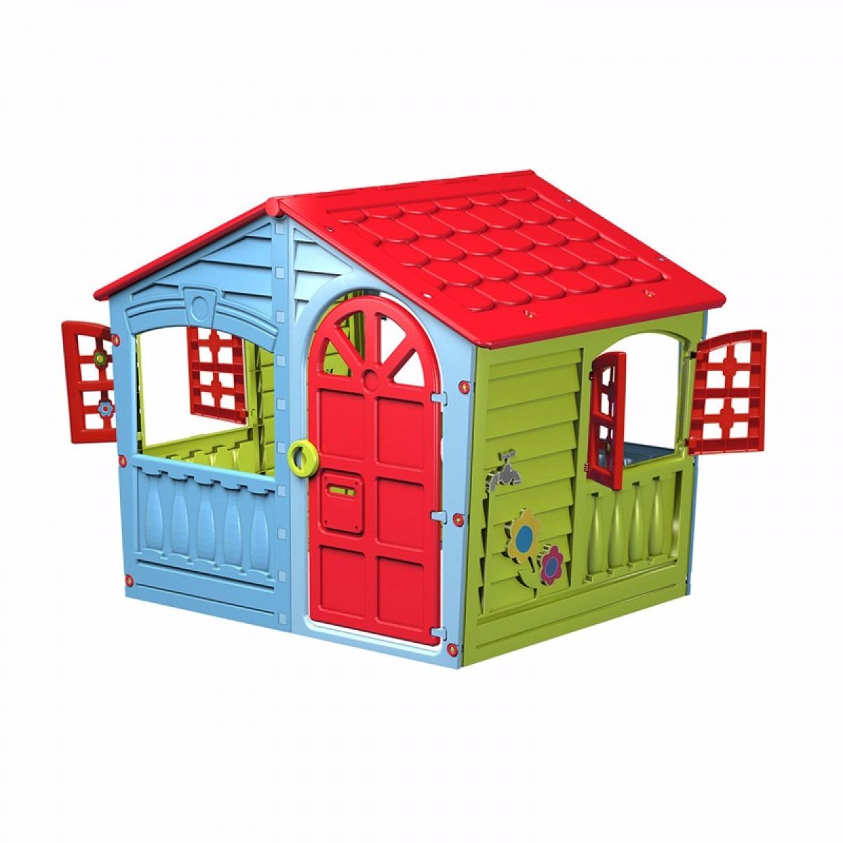 Casita de juegos marian plast jardin casa color for Casita de juegos para jardin
