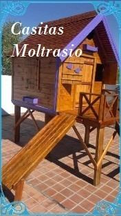 casita de madera calidad premium para nenes