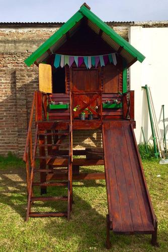 casita de madera excelente calidad para nenes