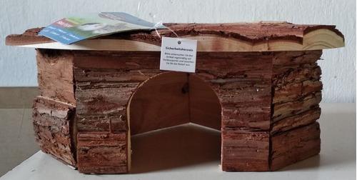 casita de madera para cuis,cobayas,erizos...