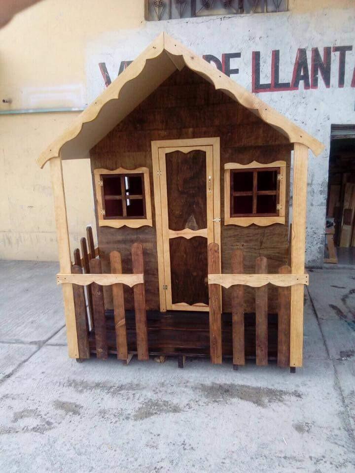 Casita de madera para exteriores mejor calidad 7 en mercado libre - Madera para exteriores ...
