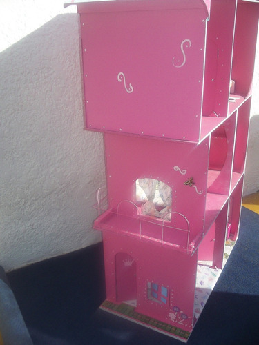 casita de muñeca madera,c/mobiliario o sin.nuevas altas