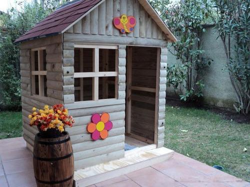 casita de muñeca para jardin