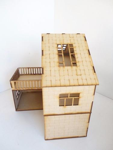 casita de muñecas abigail en mdf rompecabezas 3d