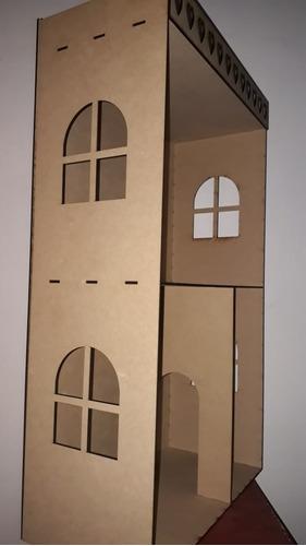 casita de muñecas fibrofacil economica dia del niño