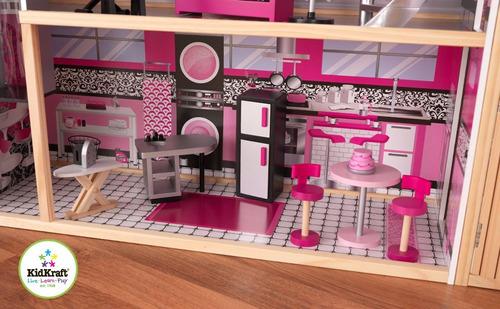 casita de muñecas kidkraft sparkle mansion niñas+envio grati