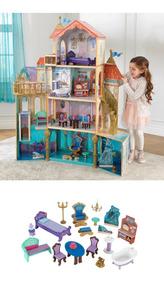 Enorme Casita De Muñecas Para Niñas Kidkraft Disney Ariel