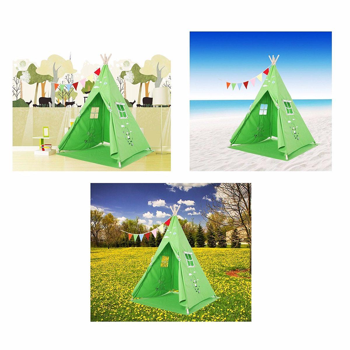 Casita de tela para ni os lubber verde 3 en - Casitas de tela para ninos imaginarium ...