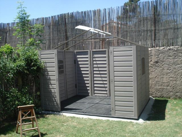 Casita dep sito cobertizo galp n de jard n u s for Cobertizos para jardin