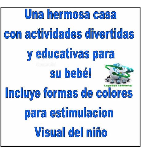 casita didactico interactivo colores bebe colegio tacos